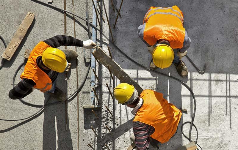 praca pre stavbarov v nemecku