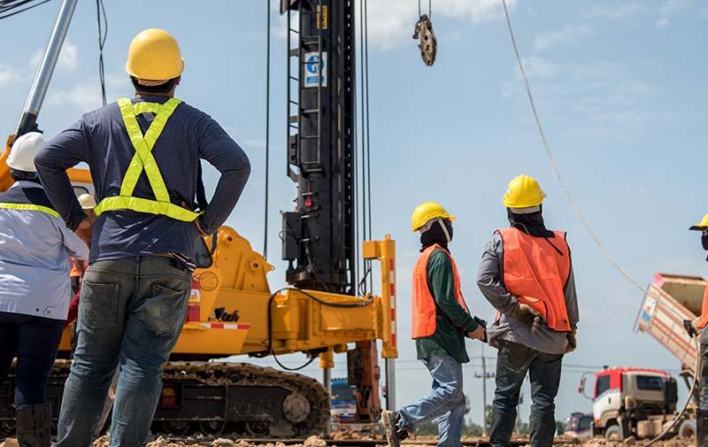 praca v stavebnom priemysle
